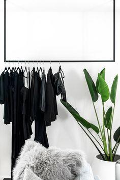 Ikea Turbo, Ceiling Storage, Turbulence Deco, Garment Racks, L Shape, Wall Hanger, Minimal Design, Wardrobe Rack, Minimalist Clothing
