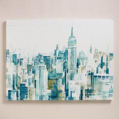 'Watercolor City' by Ela Jarek