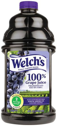 Can I Use Welch's Grape Juice To Make Wine? | E. C. Kraus Home Winemaking Blog
