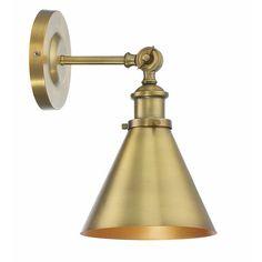 - Savoy House Glenn 1 Light Warm Brass Wall Sconce - Coupon off. Dimmable Light Bulbs, Farmhouse Lighting, Wall Lights, Light, Wall Sconce Lighting, Lighting, Light Fixtures, Vintage Bulb, Wall Sconces