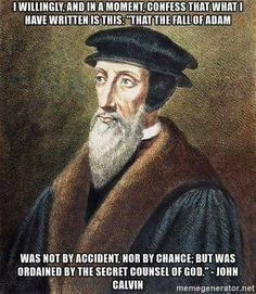 You are saying God is the author of sin. How blasphemously arrogant! 2 Peter 3 9, Proverbs 27, John Calvin, Reformed Theology, Set Me Free, Word Of God, Christianity, Spirituality, Bible