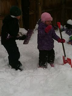 Link up of Outdoor Snow Fun