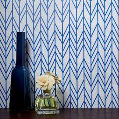 Chasing Paper Herringbone Removable Wallpaper