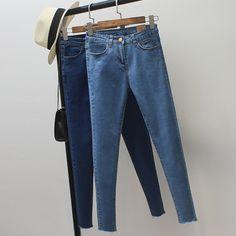 29.86$  Watch now - https://alitems.com/g/1e8d114494b01f4c715516525dc3e8/?i=5&ulp=https%3A%2F%2Fwww.aliexpress.com%2Fitem%2F2017-Women-Vintage-Skinny-Jeans-Spring-Autumn-Fashion-Pencil-Pants-Denim-Strech-Blue-Black-High-Waist%2F32777816252.html - 2017 Women Vintage Skinny Jeans Spring Autumn Fashion Pencil Pants Denim Strech Blue Black High Waist Plus Size Jeans Z730