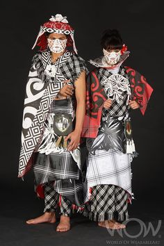 CLAN PACIFICA, Janet Bathgate, New Zealand. Air New Zealand South Pacific Section, 2008 Brancott Estate WOW Awards Show