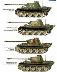 """Panzer V """"Panther"""" variants"""