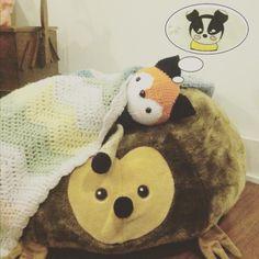 Tobias goes to bed thinking of the new friends he will meet. I hope all of your dreams are filled with wonderfulness. #crochet #amigurumi #handmade #crafty #diy #iloveyarn #ilovecrochet #crochetaddict #instacrochet #crochetersofinstagram #crochetfox #crochetchevronblanket #ikeahedgehog #crochetlove #crochetporn #crochetafghan by thewalkingthread