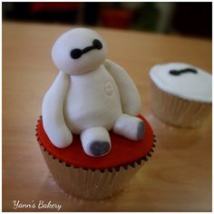 Baymax Cupcake Big Hero 6