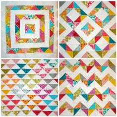 Possibilities for HSTs leftover from Swoon quilt