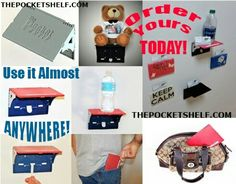 Order YOURS Today! www.thepocketshelf.com