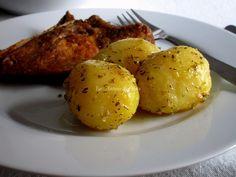 Patatas salteadas con tomillo y ajo