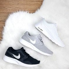 I bought a pair of the black ones and they are so cute and comfy!!! Nike