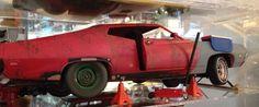 1:18 die-cast conversion  'Restoration' Ford Torino