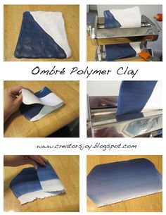 Tutorial: How to blend colors with polymer clay free ombre tutorial