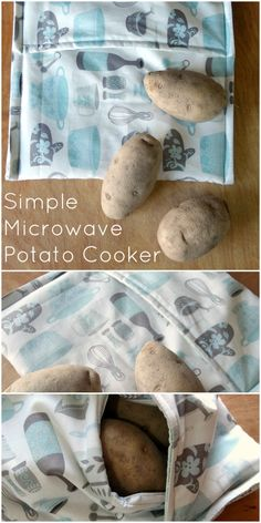 how to sew a microwave potato bag - Such a fun idea for giving out this year for house warming presents. I love mine and use it all the time. Had to make a second one for myself- the college daughter snatched it from me.