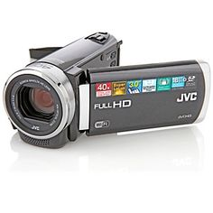 JVC EX-250 1080p Full HD Wi-Fi 40X Optical Zoom 16GB Camcorder at HSN.com.