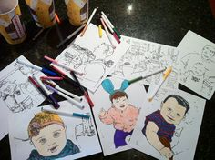 This App Will Allow You To Take Pictures And Turn Them Into Coloring Book Pages