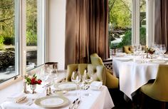 The Hugo chairs spotted at the Charles Sheen Restaurant in Ireland