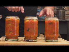 Leczo w słoikach / Oddaszfartucha - YouTube Youtube, Candle Holders, The Creator, Stuffed Peppers, Instagram, Food, Canning, Essen, Stuffed Pepper