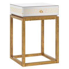 Bungalow 5 Donatella One-Drawer Side Table @Zinc_Door