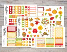 Fall Planner Sticker