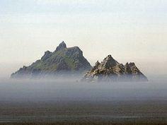 Skellig Rocks - World heritage site