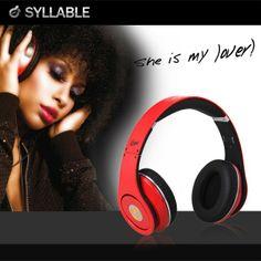 Syllable Stereo HiFi Kopfhörer für DJ Musiker iPhone
