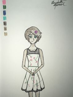 I don't like this one that much but I like the dress