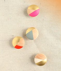 Amp Up Your Kitchen Cabinets: Make Your Own Multi-Colored Cabinet Knobs!