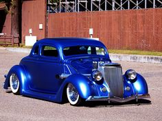 36 Ford Coupe Rat Rod -
