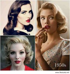 1950s hairstyles - I am slightly obsessed