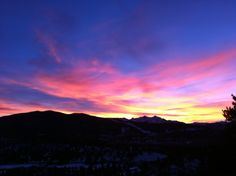 Colors at Keystone #Colorado Sunset