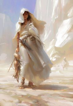 Tagged with art, painting, illustration, digital painting, fantasy art; Shared by Huntress Fantasy Artwork, Digital Art Fantasy, Fantasy Inspiration, Character Inspiration, Fantasy Characters, Female Characters, Character Concept, Character Art, Desert Drawing