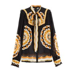 Anna Sui Printed Blouse