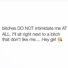I promise I will & dare a hoe to say something
