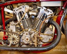 Monroe Special -953cc hand built OHV, dry sump conversion w/early Chief oil pump, badass!