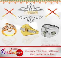Celebrate this Diwali Season with #SOGANI #JEWELLERS  Buy online or walk in to our exclusive store to #avail all #offers & #Discounts  Visit- Sogani Jewellers  C-19, Vaishali Marg, Vaishali Nagar Jaipur. Call- +919799809156, 0141-4024656. Shop Online- www.soganijewellers4u.com #24 #Hours #Dispatch (Delivery 5 to 7 Days) #Cash #On #Delivery #Available #Easy 30 #Days #Return