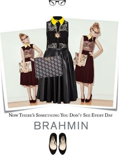 """How do you wear your Brahmin?"" by reenz ❤ liked on Polyvore"