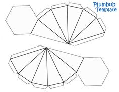 Plumbob Template - Green Construction Paper and Green Pipecleaners and you are set.