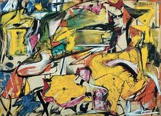 Willem de Kooning, Collage (1950). Image courtesy of the Museum of Modern Art, New York.