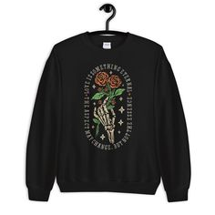 Romantic Grunge Sweatshirt