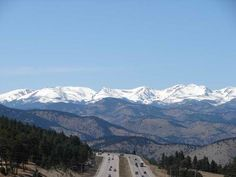 Favorite I70 Westbound View - this will be my view on my drive home to Evergreen, Colorado... eventually :)