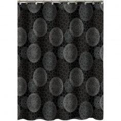 Hometrends Circles Shower Curtain