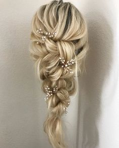 637 likes, 43 comments - bridal hair + makeup artist ( ., 637 likes, 43 comments - bridal hair + makeup artist ( . There isn't any challenge with wholesaling through a spring season curly hair movement. Wedding Hair Pins, Bridal Hair Vine, Bridal Hair And Makeup, Hair Makeup, Bridal Hair Braids, Wedding Hair Jewelry, Romantic Bridal Hair, Long Bridal Hair, Medium Hair Braids