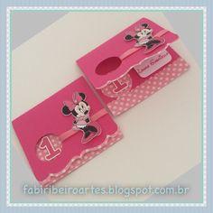 Minnie Rosa, papelaria personalizada, convite personalizado, scrapfesta