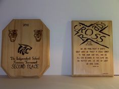 Plaques by TonyandLyndie on Etsy, $18.00