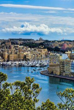 Vittoriosa Marina, Malta.