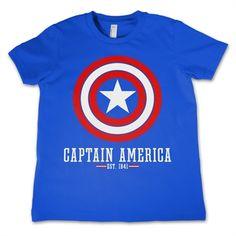 Marvel Comics - Captain America Logo Kids T-Shirt