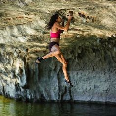 "freakturtles: ""[ Rock Climber ● Ann Raber ] @sendann  Check out the link below!  Ann Raber Interview with..."