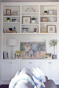 Living Room Shelves Ideas Built Ins Bookshelf Styling 68 Super Ideas Built In Shelves Living Room, Bookshelves Built In, Book Shelves, Bookcases, Corner Shelves, Bookcase Wall, Living Room Bookcase, Display Shelves, How To Decorate Bookshelves